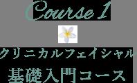 クリニカルフェイシャル 基礎入門コース
